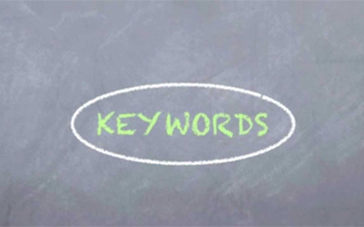 A guide to using the right keywords to impact your search engine rankings